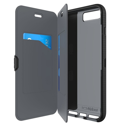 Tech21 Evo Wallet for iPhone 7 Black