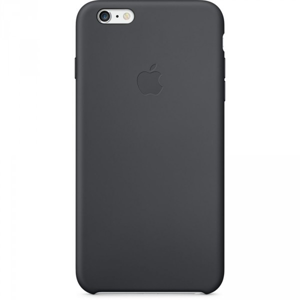 Apple iPhone 6/6s Plus Silicone Case Black