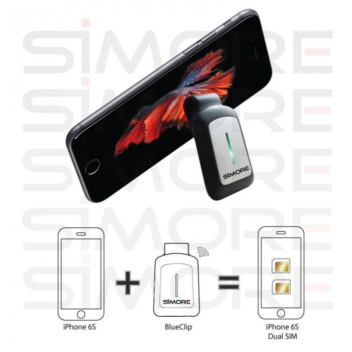 Blueclip Dual Sim Adapter - Bluetooth