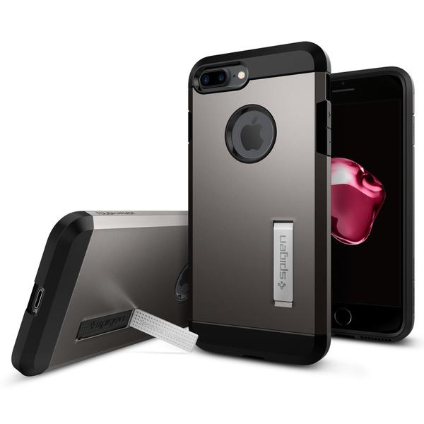 Spigen iPhone 7 Plus Case Tough Armor Gunmetal
