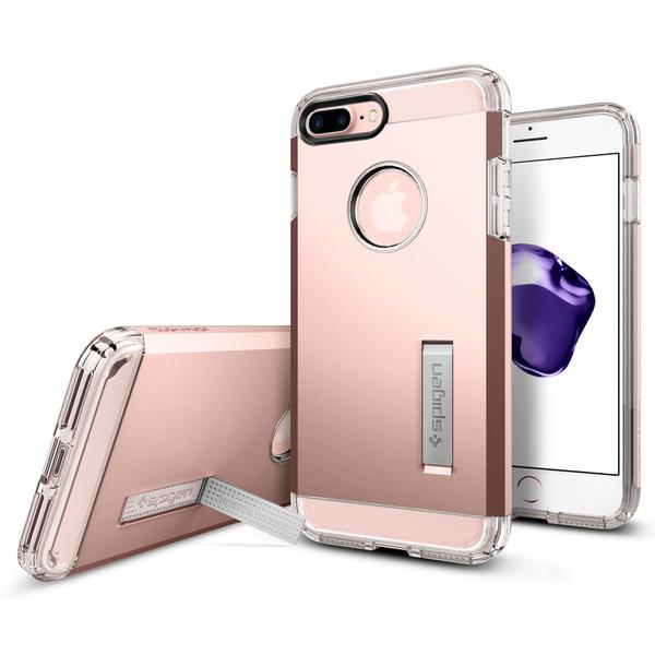 Spigen iPhone 7 Plus Case Tough Armor Rose Gold
