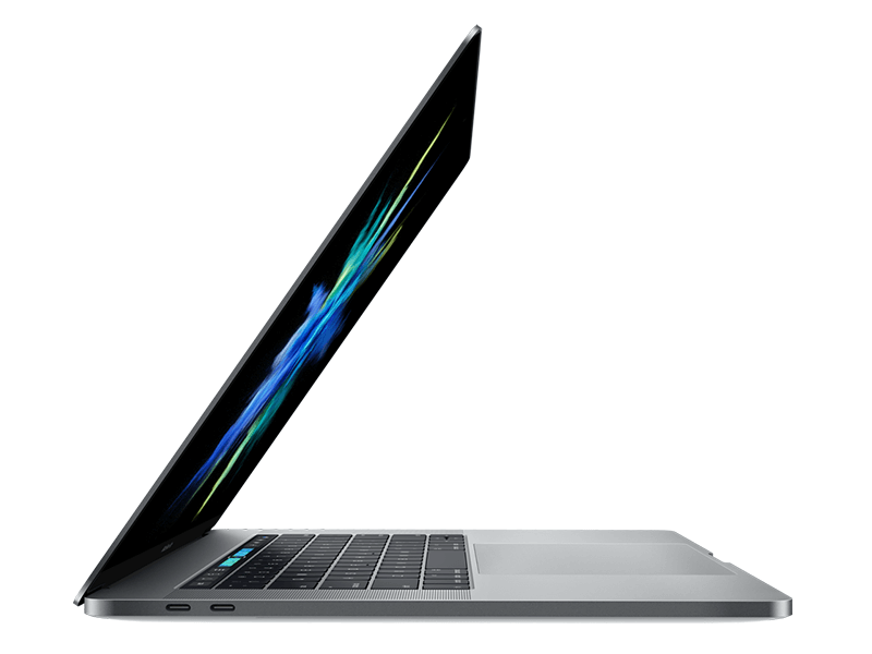 MacBook Pro 15-inch with Touch Bar: 2.6GHz quad-core Intel Core i7, 256GB - Silver
