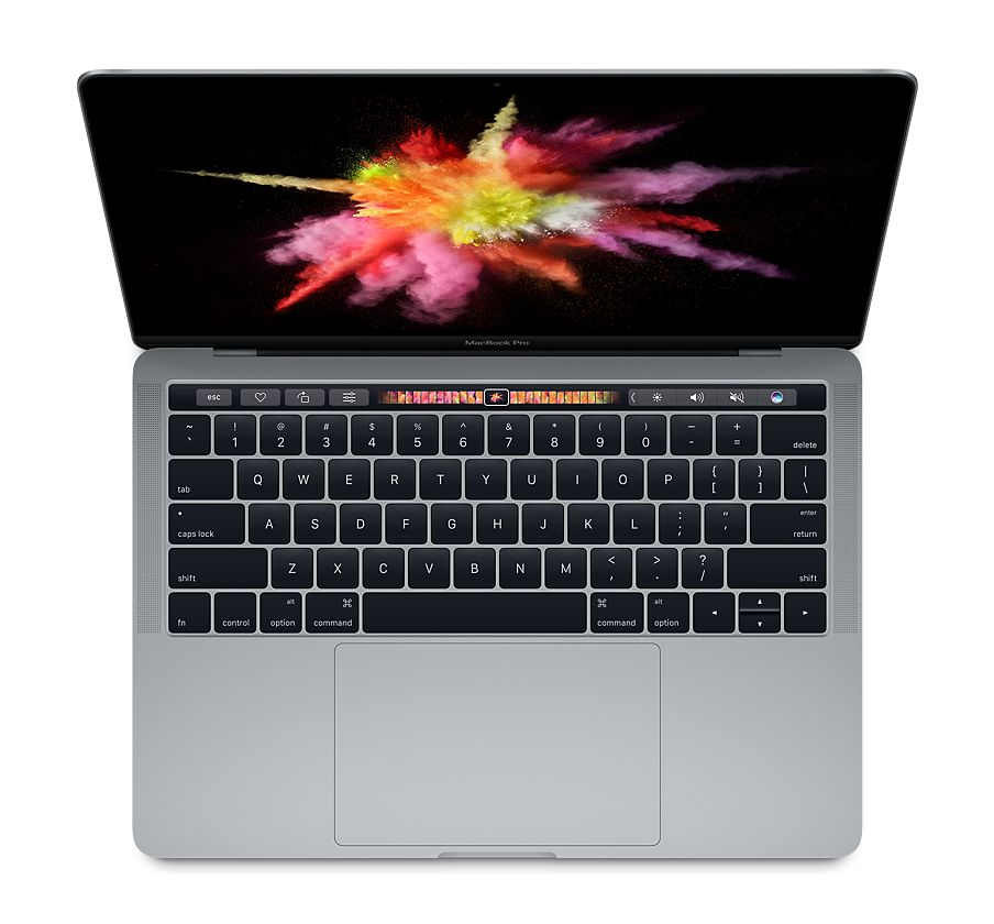 MacBook Pro 15-inch with Touch Bar: 2.7GHz quad-core Intel Core i7, 512GB - Space Grey