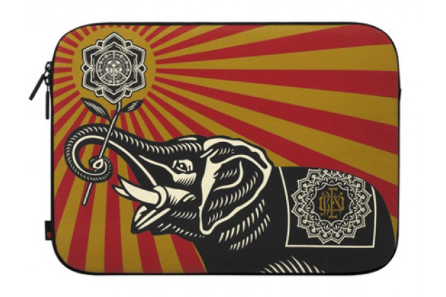 Incase Shepard Fairey Coated Canvas Sleeve Obey Elephant