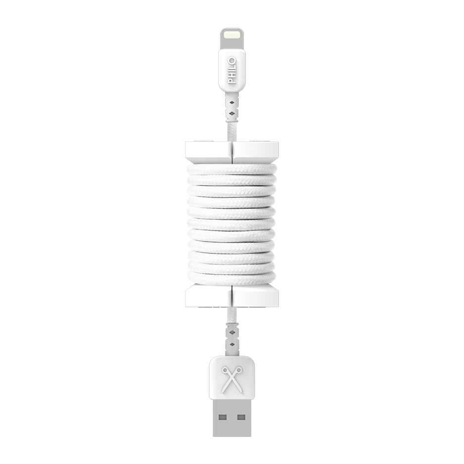 PHILO Spool Cable White